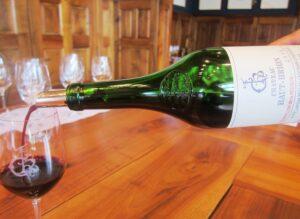 2010 HB April HB pour 300x219 2010 Pessac Leognan Bordeaux Wine Guide Reviews Tasting Notes