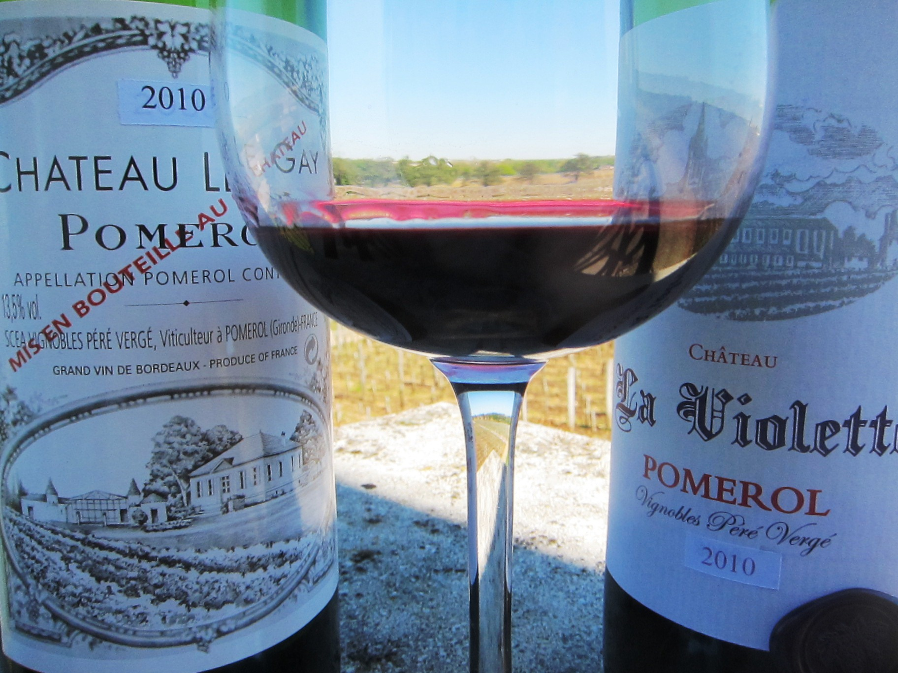 2010 le gay pomerol la violette bordeaux wine