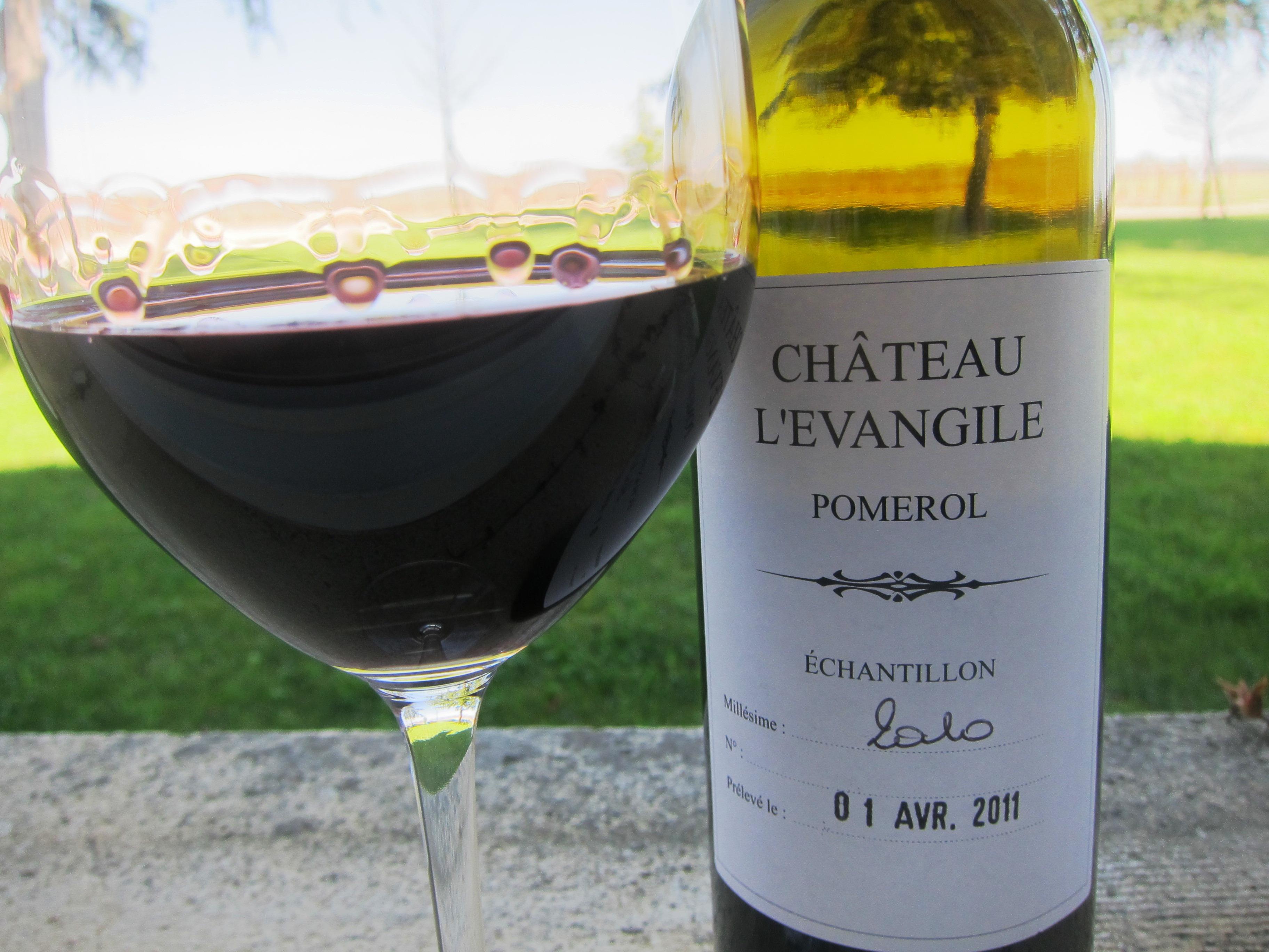 2010 l'evangile bordeaux pomerol wine