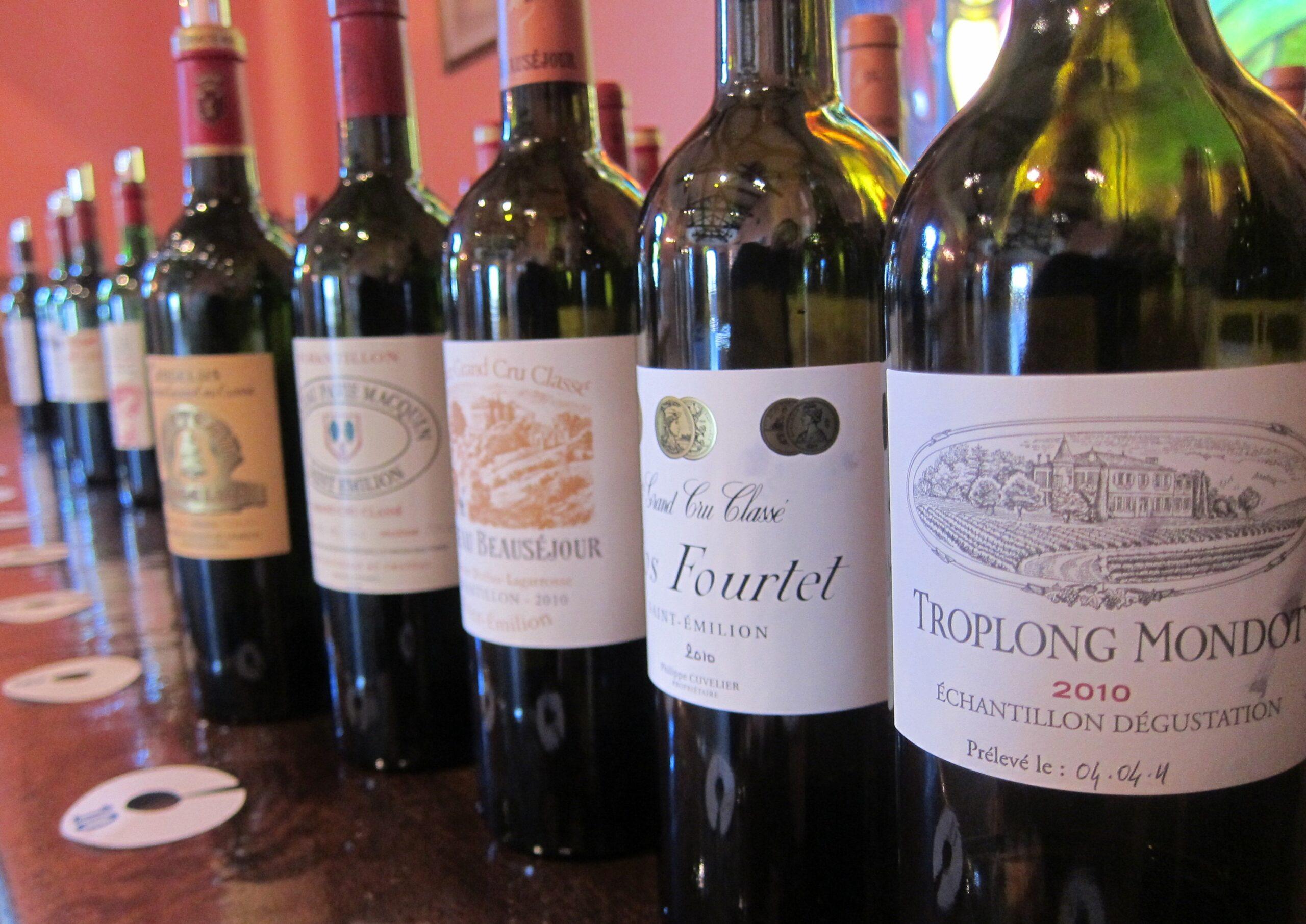 2010 St. Emilion Bordeaux Wine Guide, Tastings Notes