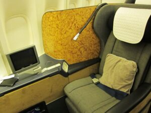 British Air Seat 300x225 In Bordeaux via Dinner in UK with Stephen Browett Farr Vintners