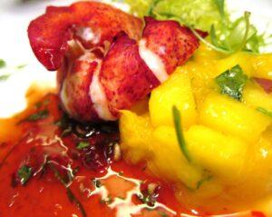 British air lobster 300x239 In Bordeaux via Dinner in UK with Stephen Browett Farr Vintners