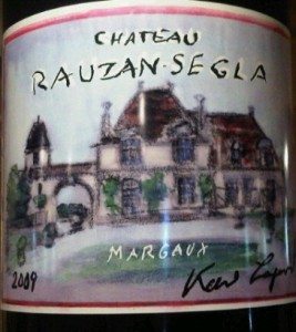 rauzan segla 20091 267x300 2009 Rauzan Segla New Label Celebrating 350th Birthday