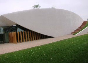 Cheval Blanc new Cellars 300x214 2010 Cheval Blanc, High Prices, Stunning New Cellars in St. Emilion