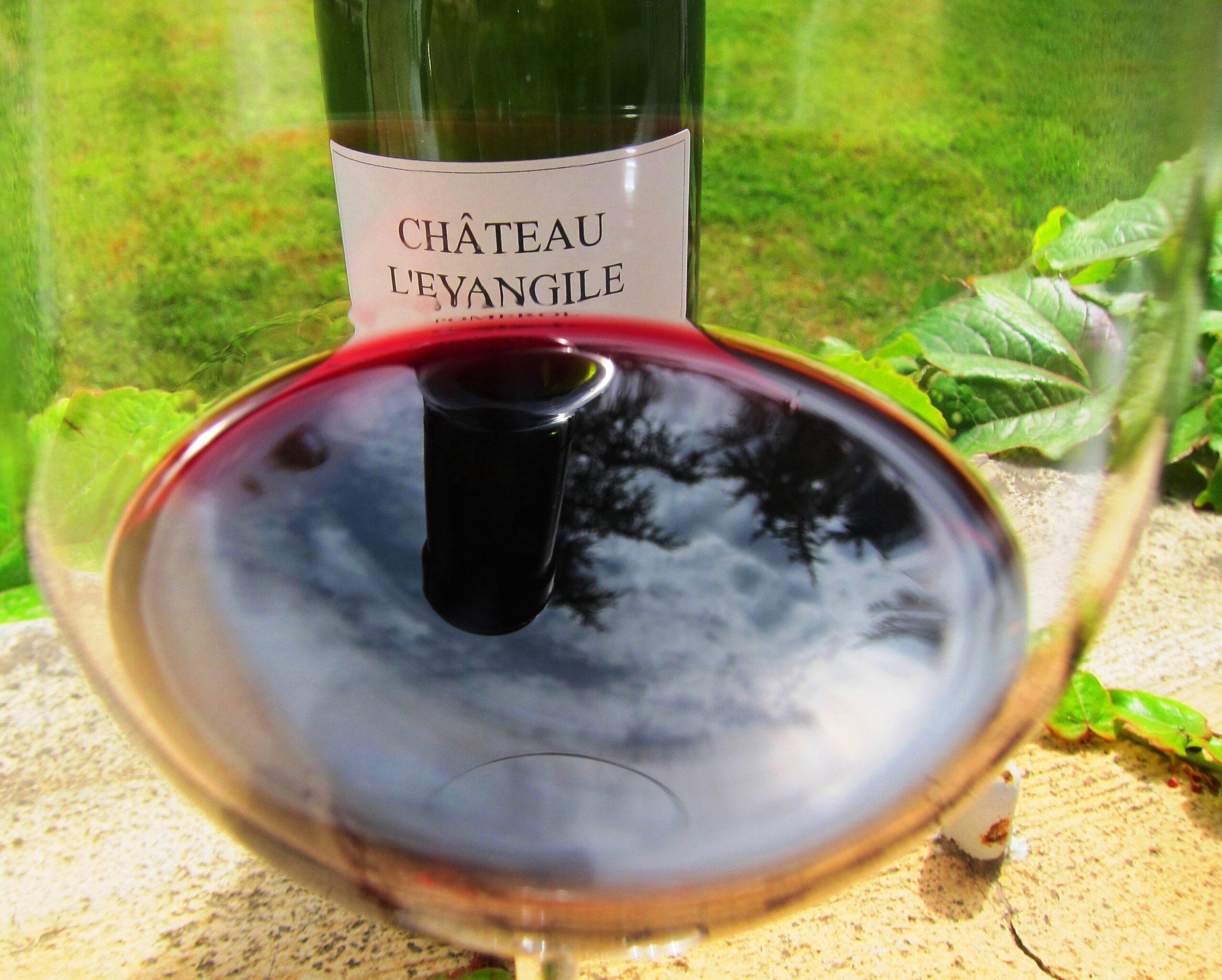 2010 L'Evangile Pomerol Bordeaux has it improved since April?