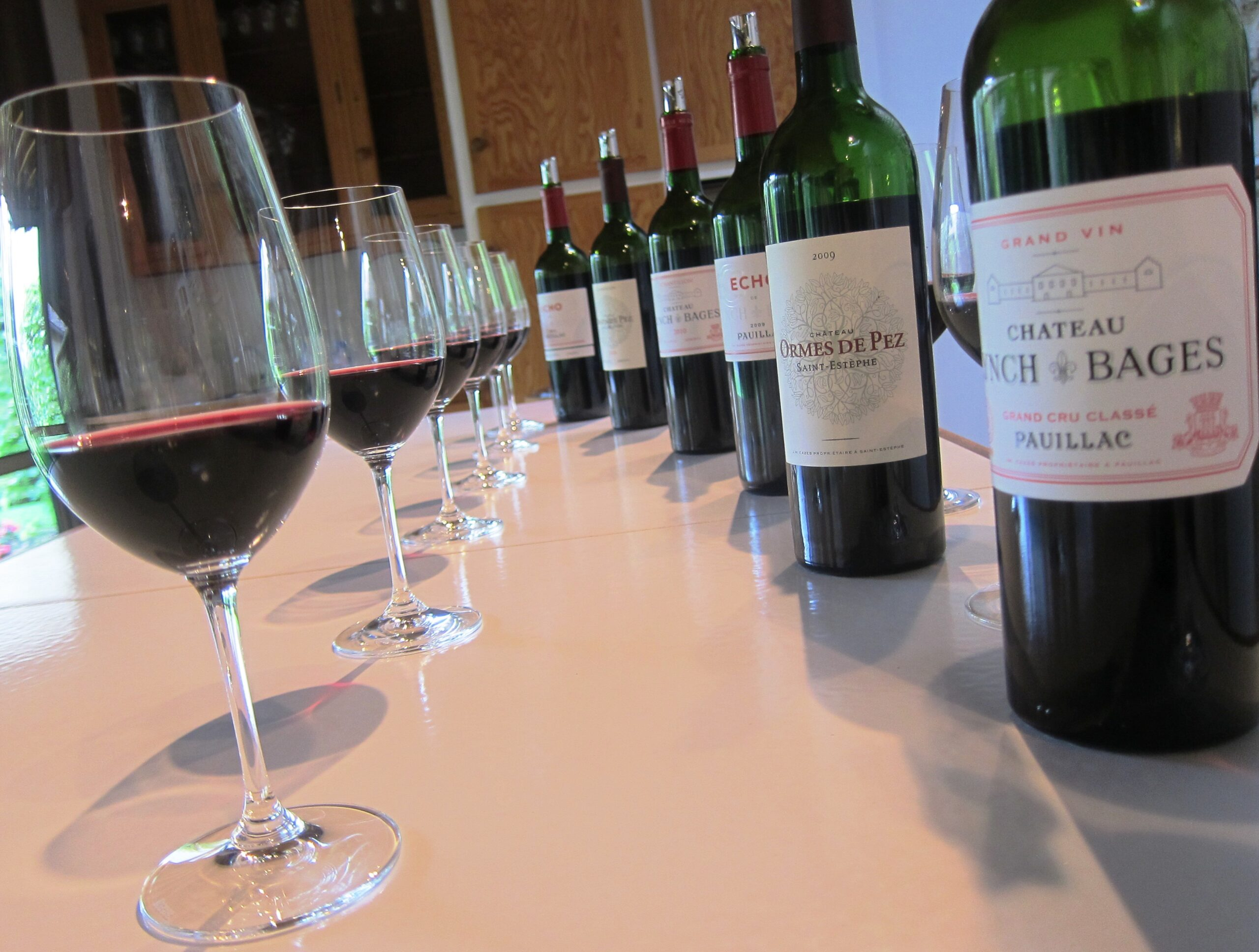2009 Lynch Bages Opulence, Vs 2010 Lynch Bages Structure in Pauillac