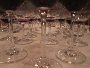 Matthesen Blind Glasses Stems 300x225 Blind Tasting Bordeaux Wine, Rhone Wine & More 7 Blind Men