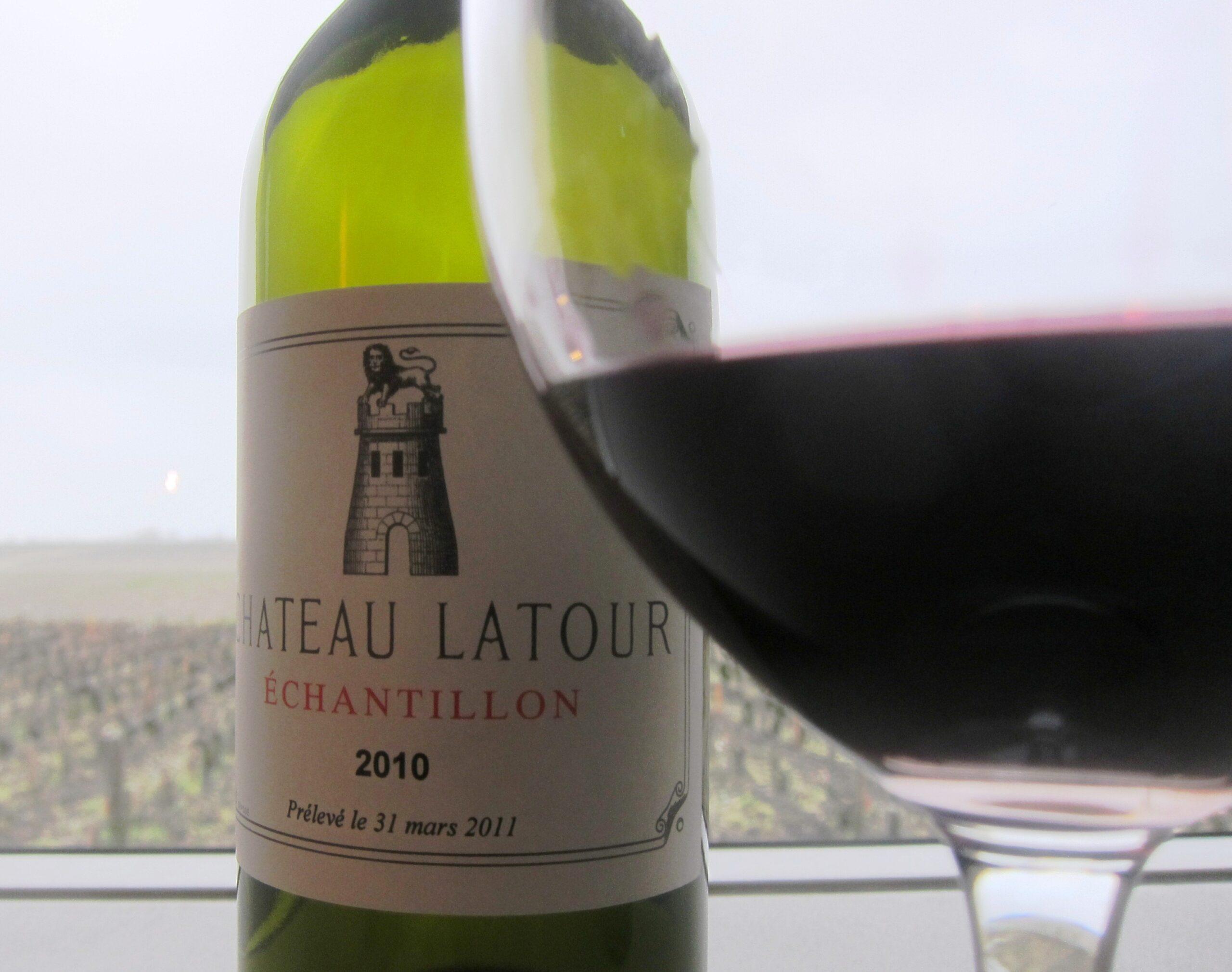 2010 Chateau Latour 1996 Latour Two Legendary Wines Tasted