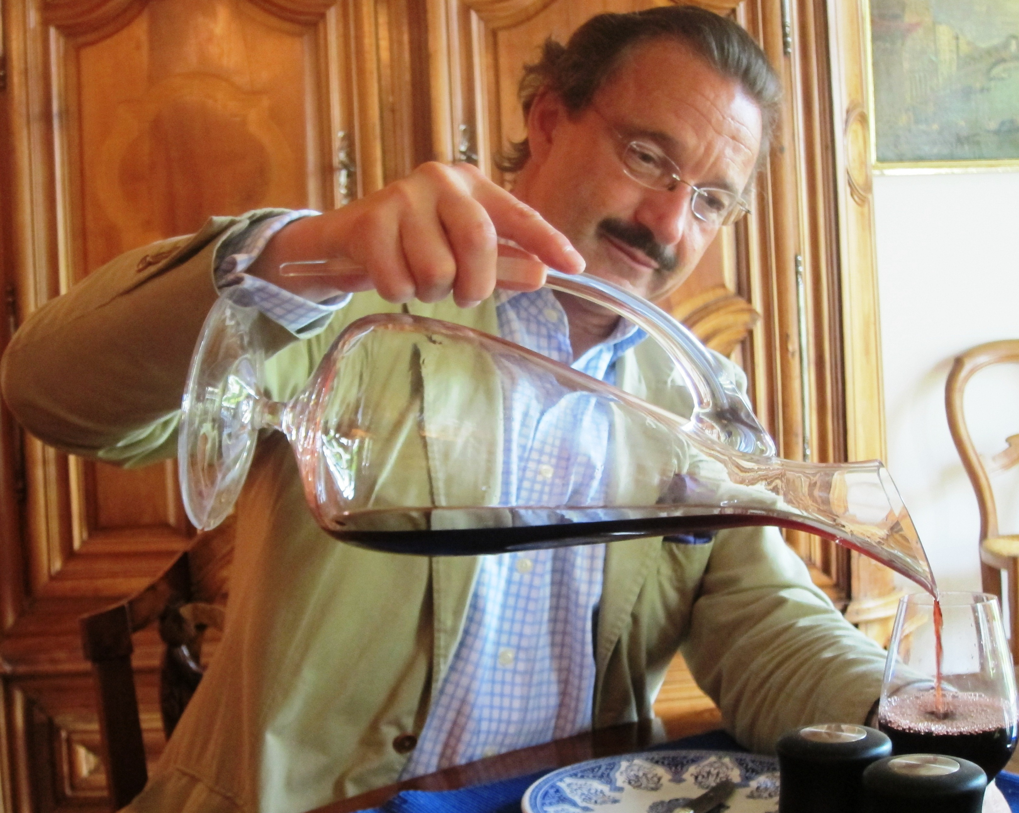 2010 Canon La Gaffeliere tasting with Stephan von Neipperg