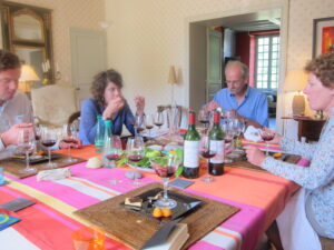 Chateau Lafleur Pomerol Lunch 300x225 Lafleur Pomerol Tasting, 1989   2010 with Jacques Guinaudeau