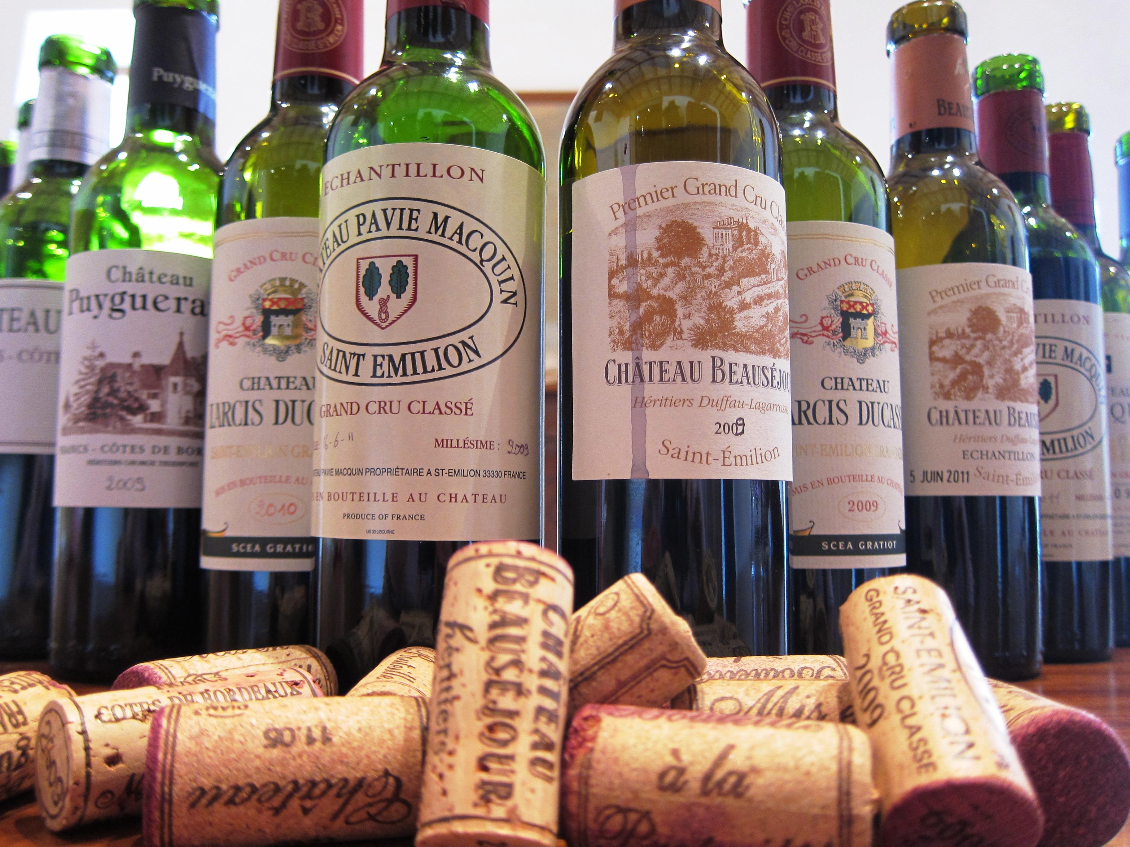Beausejour Duffau, Pavie Macquin, Larcis Ducasse tasting
