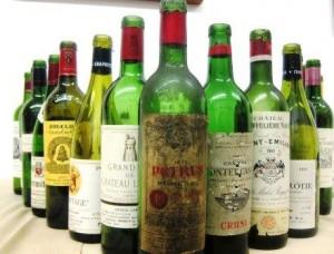 7 Blind Men 1 wines 300x228 7 Blind Men Taste Bordeaux Rhone California Wine 1961 2001