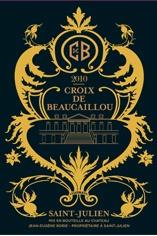 Croix de Beaucaillou Ducru Beaucaillou 2009 2005 2003 2000 1995 with Bruno Borie