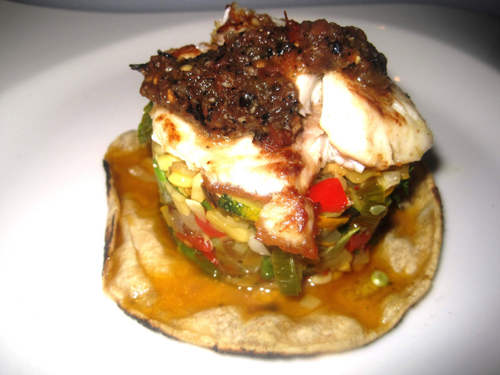 Tilapia and Roasted Squash with California Chardonnay Wine Food Pairing