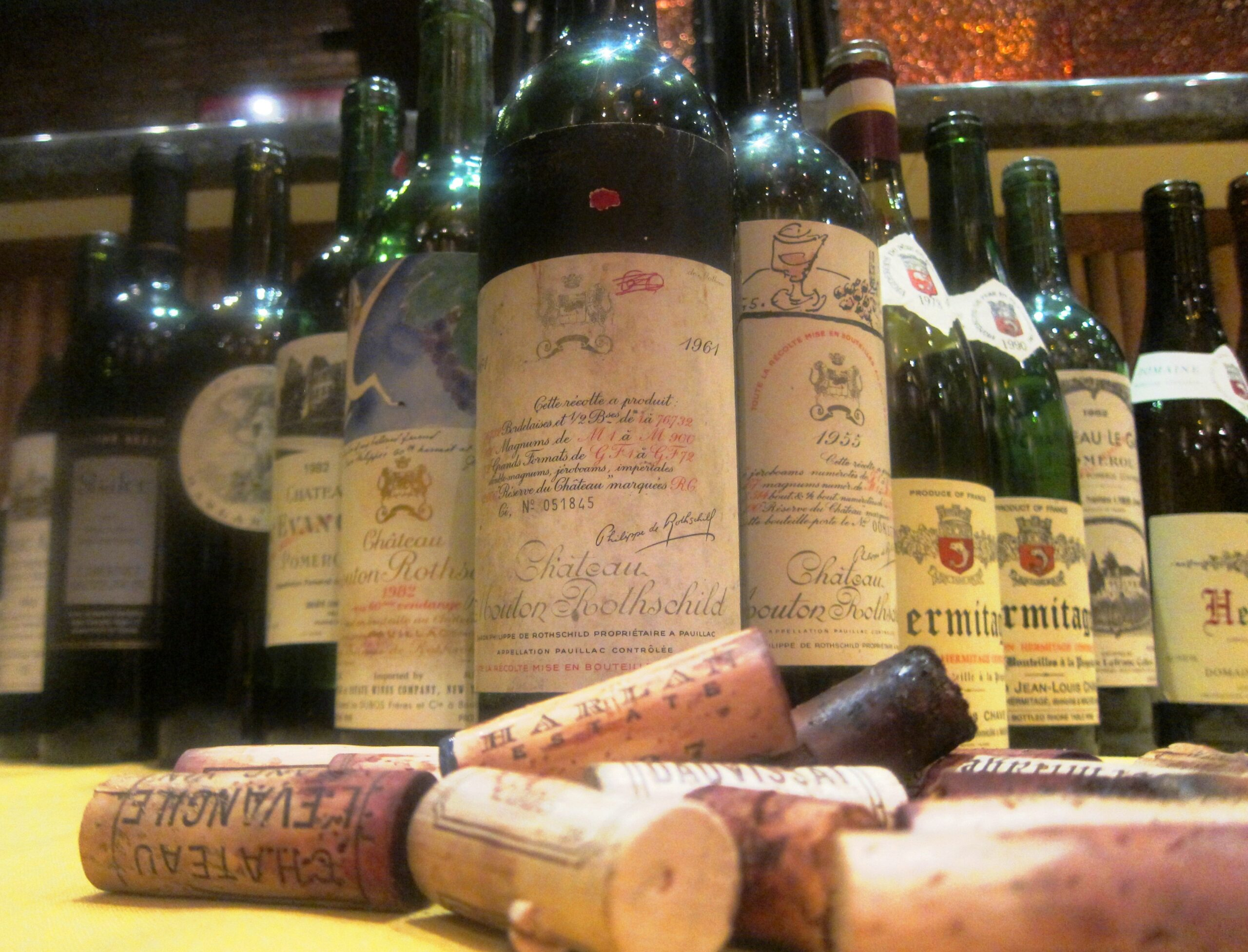 7 Blind Men A Night to Remember with Bordeaux Wine, Rhones & More