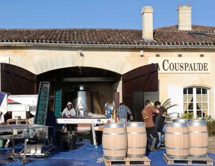 Chateau la Couspaude.Bordeaux Harvest