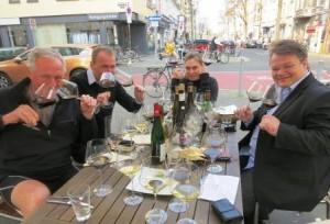 Dusseldorf Wine Lunch 300x204 Traveling to Bordeaux Hijacked by Dusseldorf Cellar Devils