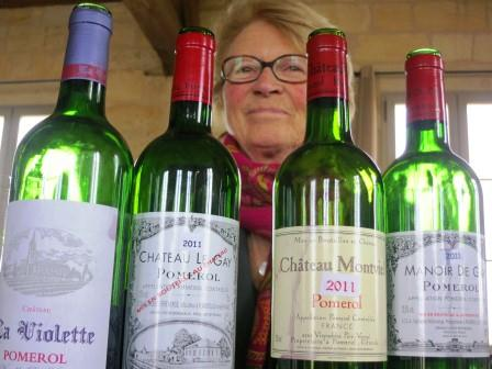 2011 Chateau Le Gay 2011 La Violette 2011 Montviel Old Vine Pomerol