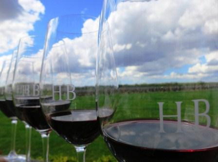 Haut Bailly Glasses