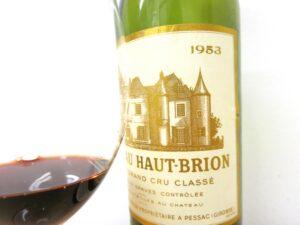 1953 haut brion 300x225 7 Blind Men Taste Bordeaux Wine, Diamond Creek, a Spanish Surprise!
