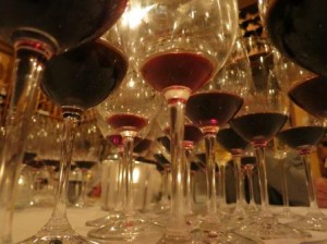 7 Blind May Glasses 300x224 7 Blind Men Taste Bordeaux Wine, Diamond Creek, a Spanish Surprise!