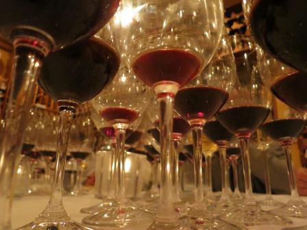 7 Blind Men wine Glasses