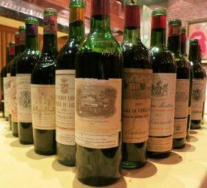 7bm bottles 300x273 7 Blind Men Taste Old Bordeaux Wines Blind from 1926 to 2003