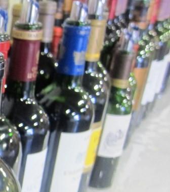 2012 Haut Medoc bottles