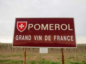 Pomerol Appellation Sign 300x225 Tasting Bordeaux wine, and a Hospitaliers de Pomerol medal for moi?
