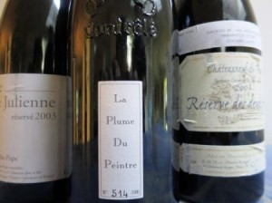 2003 Chateauneuf 300x224 7 Blind Men Taste the Great 2003 Bordeaux Wine 2003 Rhone Wine
