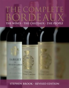 Brook Book Cover Image 235x300 Stephen Brook Throws the Book at Bordeaux Wines People and Chateaux
