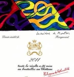2011 Mouton Rothschild