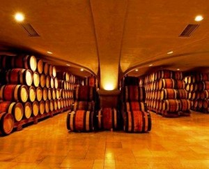 Guigal Barrel Cellar 300x242 Guigal Chateauneuf du Pape Rhone Wine, Complete Guide