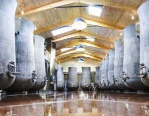 Beauregard cement vats 300x233 Chateau Beauregard Pomerol Bordeaux, Complete Guide