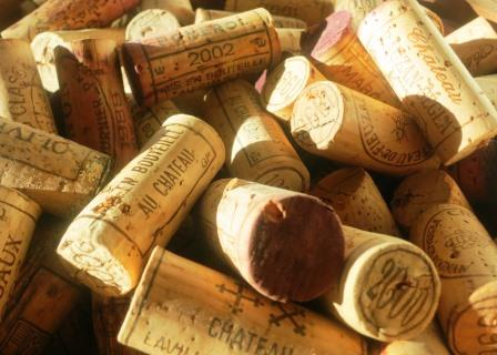 Corks from wine bottles Corked Wine, Causes and How to Tell if Your Wine is Corked or Cooked