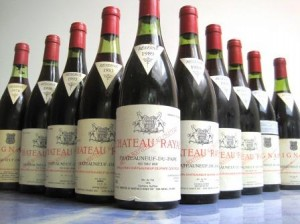 Rayas Bottles 300x224 Chateau Rayas Chateauneuf du Pape Rhone Wine, Complete Guide