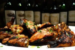 FG CHicken 300x200 Annual First Growth Bordeaux Wine Tasting and Barbecue Dinner
