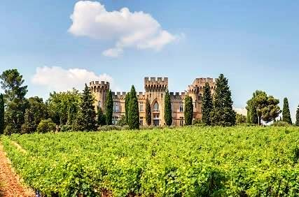 Image result for Châteauneuf-du-Pape estates in the Rhone Valley.