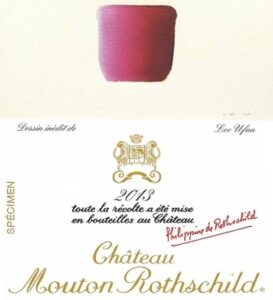 2013 Mouton Rothschild 273x300 2013 Mouton Rothschild Lee Ufan Designed Label Released