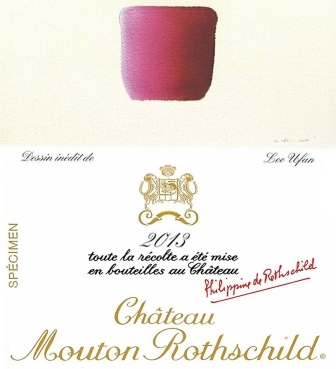2013 Mouton Rothschild Lee Ufan Designed Label Released