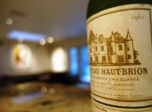 1961 Chateau Haut Brion 300x221 The Top Ten Best Wines Tasted in 2015