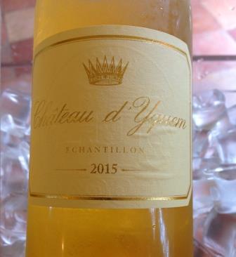 2015 Yquem 2015 Sauternes, Barsac, Sweet Bordeaux Wine Report