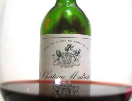 Montrose wine Wine of the Week 2003 Montrose St. Estephe