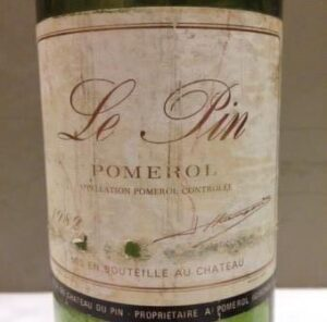 1982 Le Pin Pomerol 1 300x296 The Top Ten Best Wines Tasted in 2016, and the Stories Behind the Wines