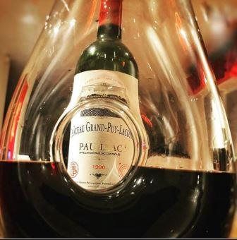 1996 Grand Puy Lacoste Wine of the Week 1996 Grand Puy Lacoste