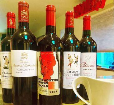 2018 Mouton Rothschild 2018 Pauillac in Bottle Tasting Report, Notes, Ratings, Buying Guide