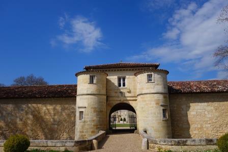 Chateau Entrance